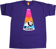 Enjoi Abduction S/S - Purple - Men's T-Shirt