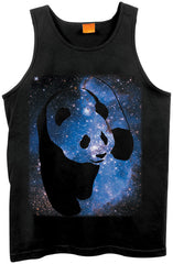 Enjoi Cosmos Panda - Black - Men's Tank Top