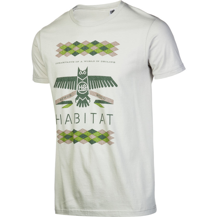 Habitat Mantle S/S - Pewter - Men's T-Shirt