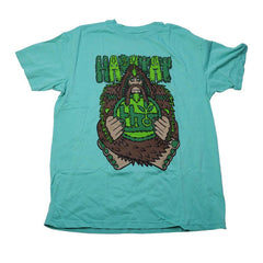 Habitat Bigfoot S/S - Teal - Men's T-Shirt