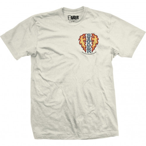 Baker Flaming Dagger S/S - Sand - Men's T-Shirt