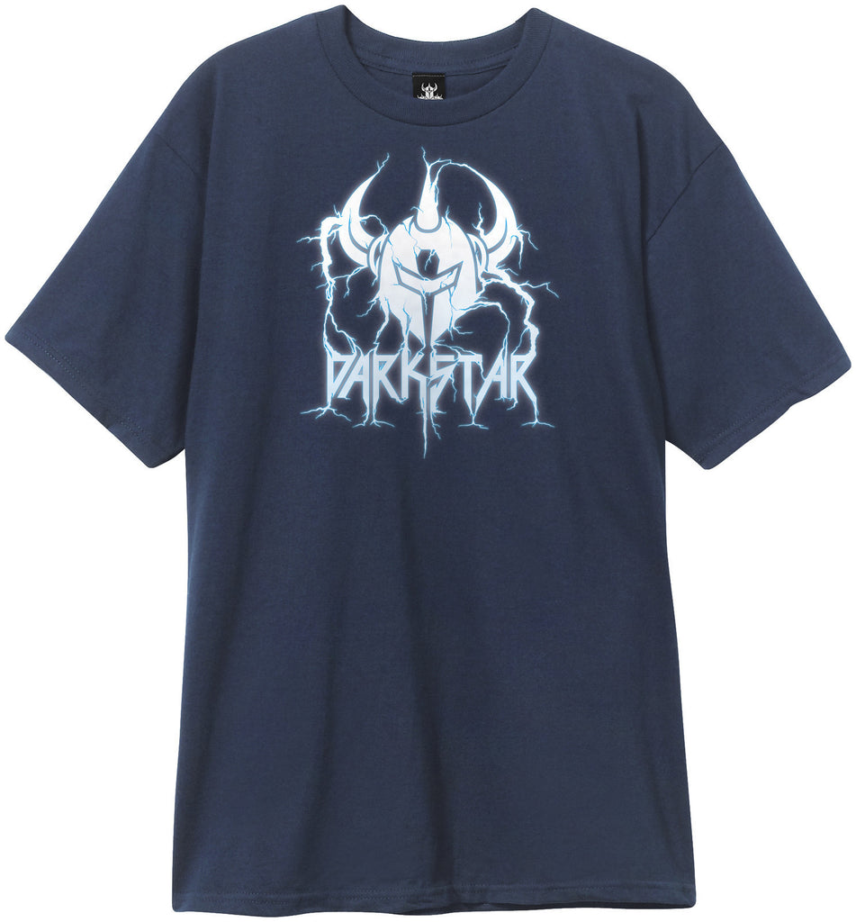 Darkstar Lightning S/S - Navy - Men's T-Shirt