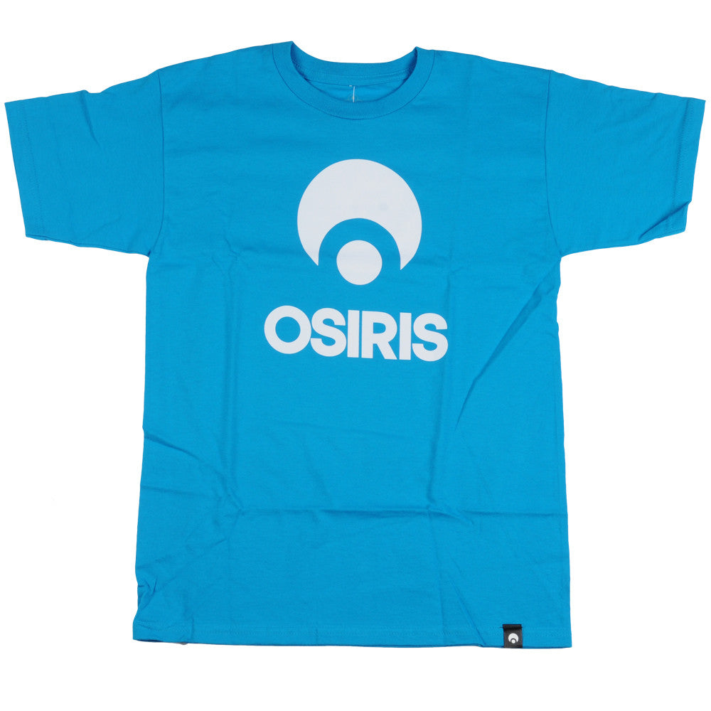 Osiris Corporate S/S - Turquoise - Men's T-Shirt