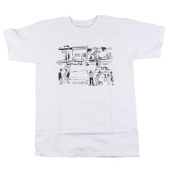 Anti-Hero J-Street S/S - White/Black - Men's T-Shirt