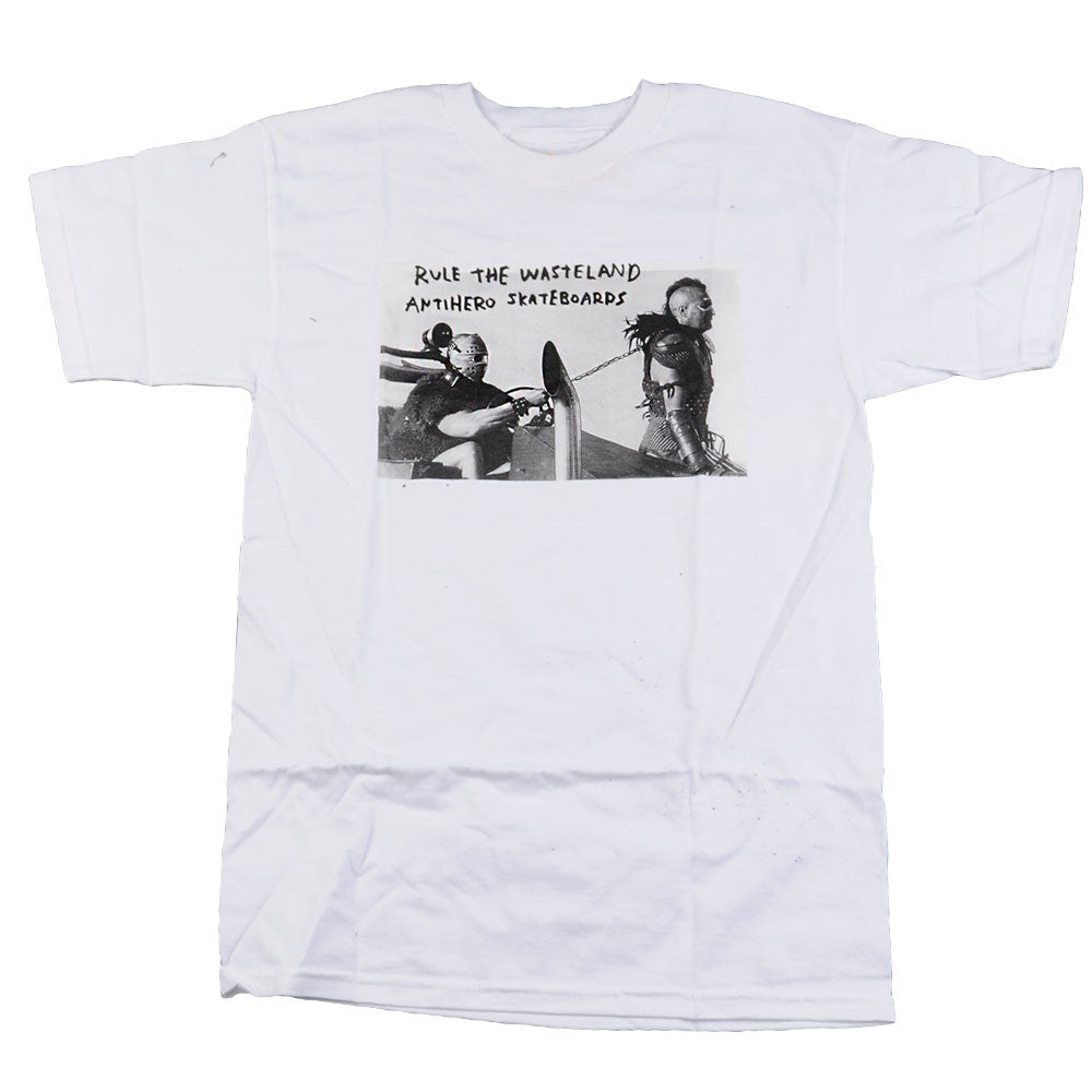 Anti-Hero Wasteland S/S - White - Men's T-Shirt
