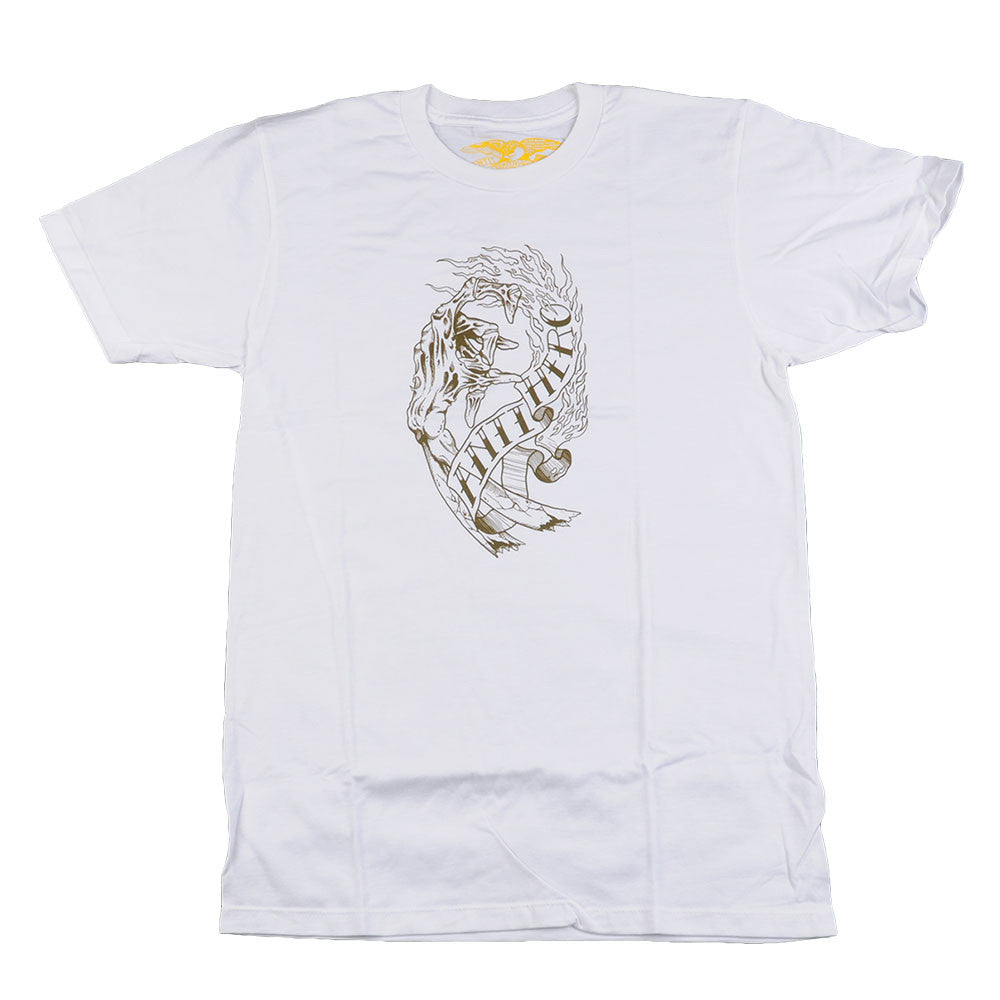 Anti-Hero Fingered Slim S/S - White - Men's T-Shirt