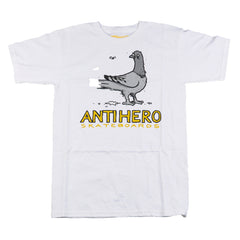 Anti-Hero Pigeon's Revenge S/S - White - Men's T-Shirt