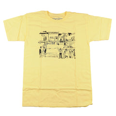 Anti-Hero J-Street S/S - Banana/Black - Men's T-Shirt