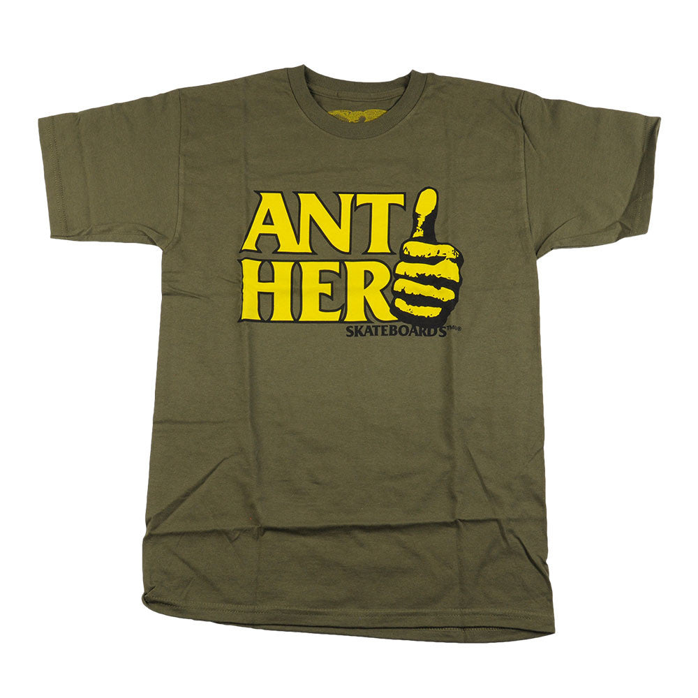 Anti-Hero Thumb Hero S/S - Military Green - Men's T-Shirt