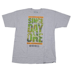Real Since Day One S/S - Camo Print/Athletic Heather - Men's T-Shirt