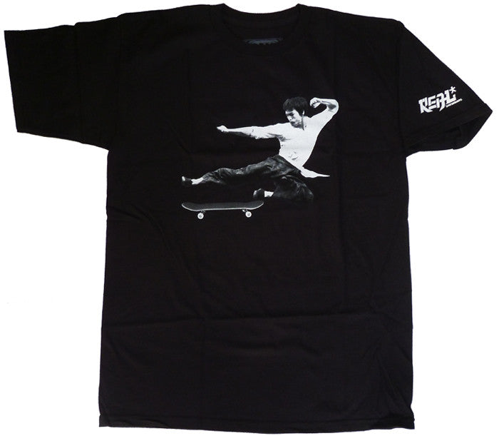Real Flick Fury S/S - Black - Men's T-Shirt
