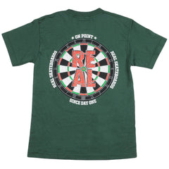 Real On Point S/S - Forest Green - Men's T-Shirt