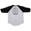 Real Roll 00 4 Ever 3/4 Sleeve - Athletic Heather/Black - Men's T-Shirt