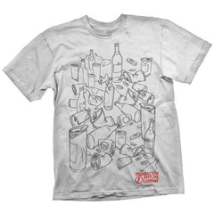 Foundation Bottling Co S/S - White - Men's T-Shirt