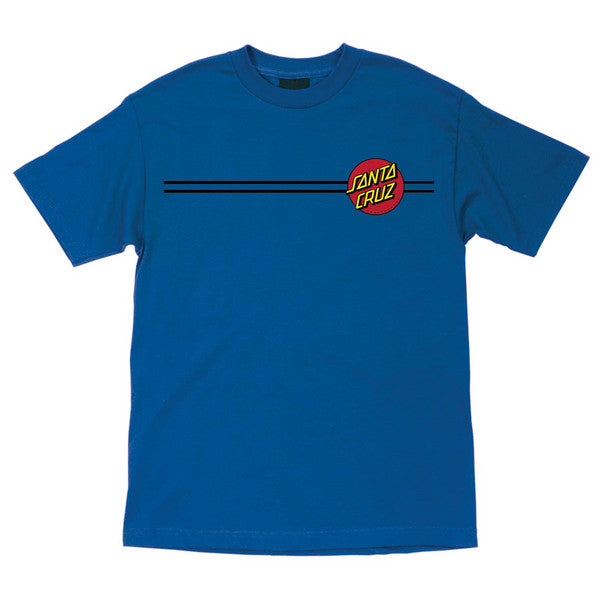 Santa Cruz Classic Dot Regular S/S - Royal Blue - Men's T-Shirt