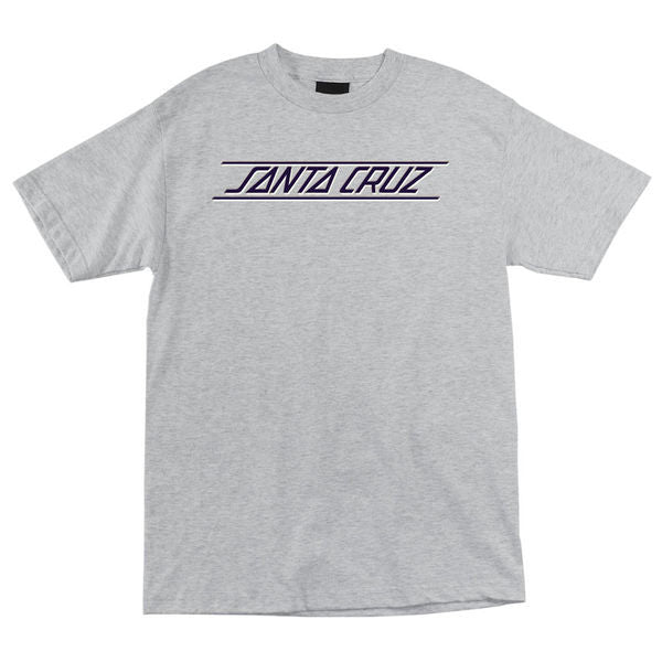 Santa Cruz Classic Strip Regular S/S - Athletic Heather - Men's T-Shirt
