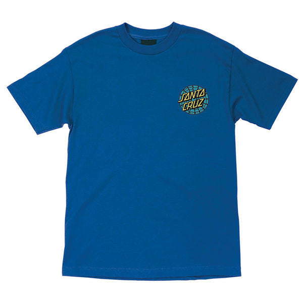 Santa Cruz Sugar Skull Regular S/S - Royal Blue - Men's T-Shirt
