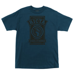 Ricta Superior Regular S/S - Harbor Blue - Mens T-Shirt
