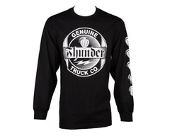 Thunder Genuine L/S - Black - Men's T-Shirt