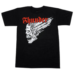 Thunder Screaming Skull S/S - Black - Men's T-Shirt