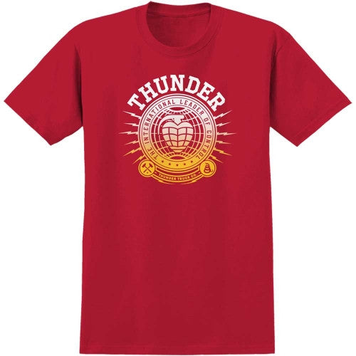 Thunder International Union S/S - Cardinal Red - Men's T-Shirt
