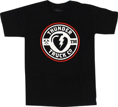 Thunder Mainline Basic S/S - Black - Men's T-Shirt
