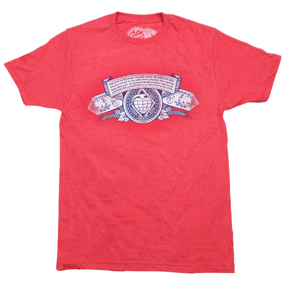Thunder Sofa King 2 S/S - Heathered Red - Men's T-Shirt