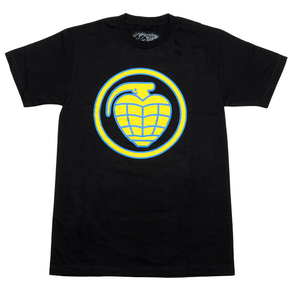 Thunder Circle Grenade Fill S/S - Black - Men's T-Shirt