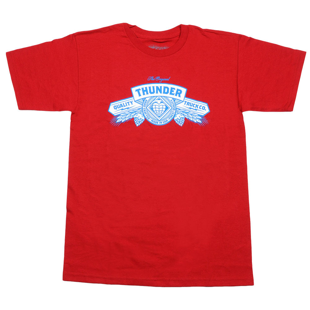 Thunder King Of Beers S/S - Cardinal - Men's T-Shirt
