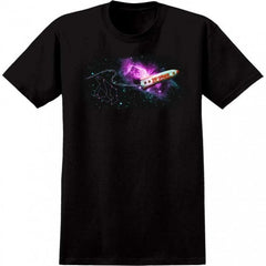 Krooked S/S Interstellar Premium - Black - T-Shirt