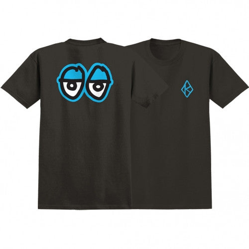 Krooked S/S Eyes In The Back - Tar - T-Shirt