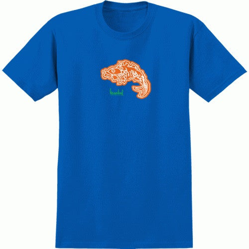 Krooked Gonz Fishing S/S - Royal Blue - Men's T-Shirt