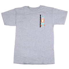 Krooked Idle S/S - Athletic Heather - Men's T-Shirt