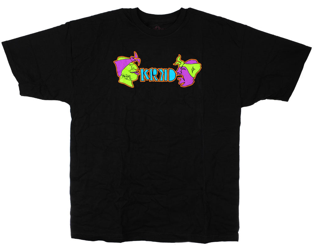Krooked Yo Krooked S/S - Black - Men's T-Shirt