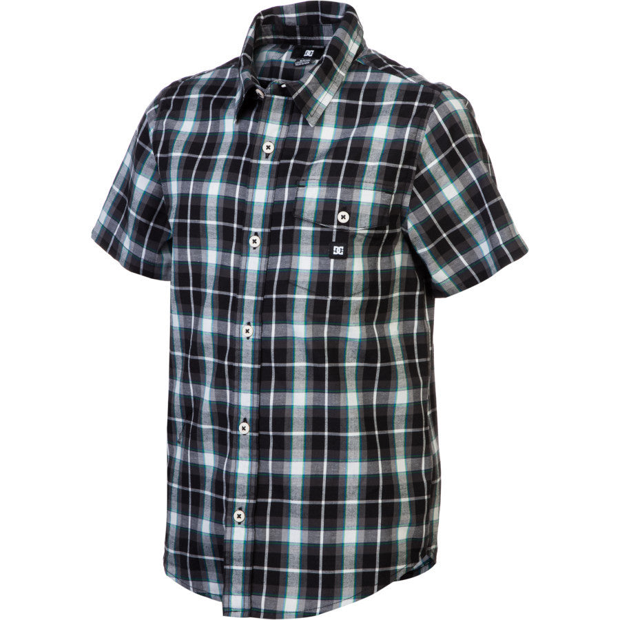 DC Jocko S/S - Royal Blue Plaid - Men's T-Shirt