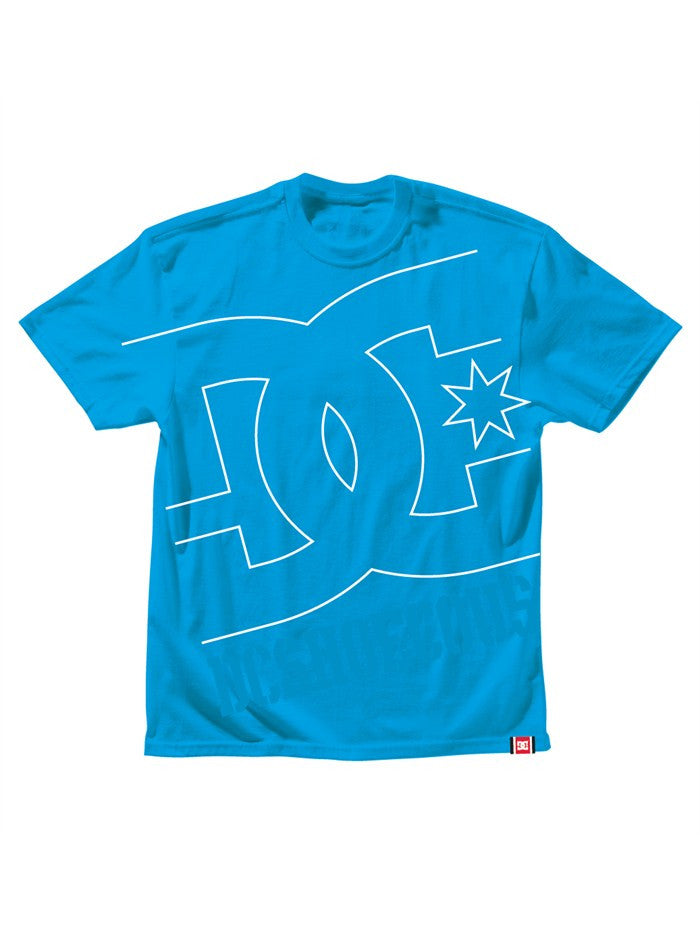 DC Rob Dyrdek USA Light - Cyan - Men's T-Shirt
