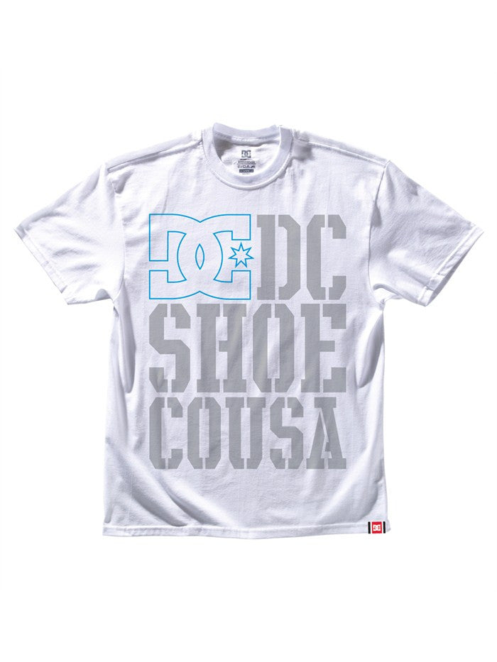 DC Rob Dyrdek USA Light Stacked - White - Men's T-Shirt