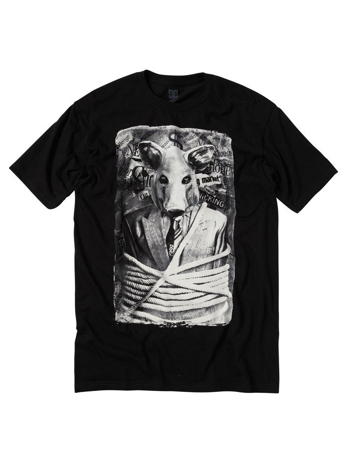 DC Wall St - Black - Men's T-Shirt