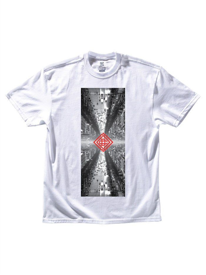DC Traffic - White - Men's T-Shirt