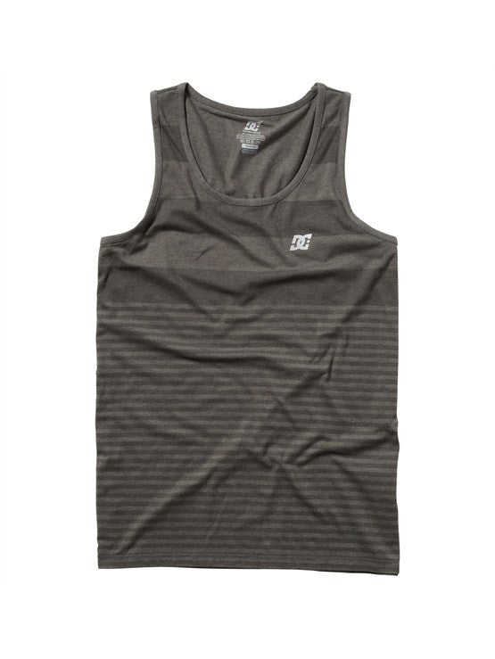DC Burly Training Tank - Heather Dark Shadow - Men's Tank Top