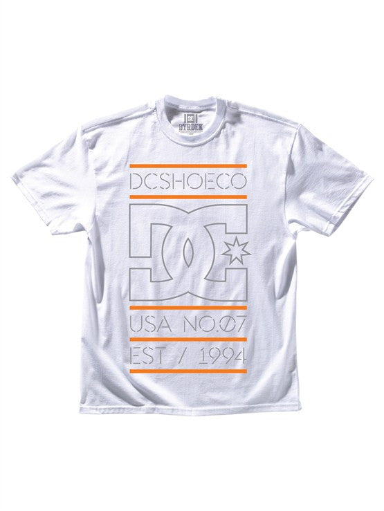 DC Rob Dyrdek Highlight Stacked - White - Men's T-Shirt