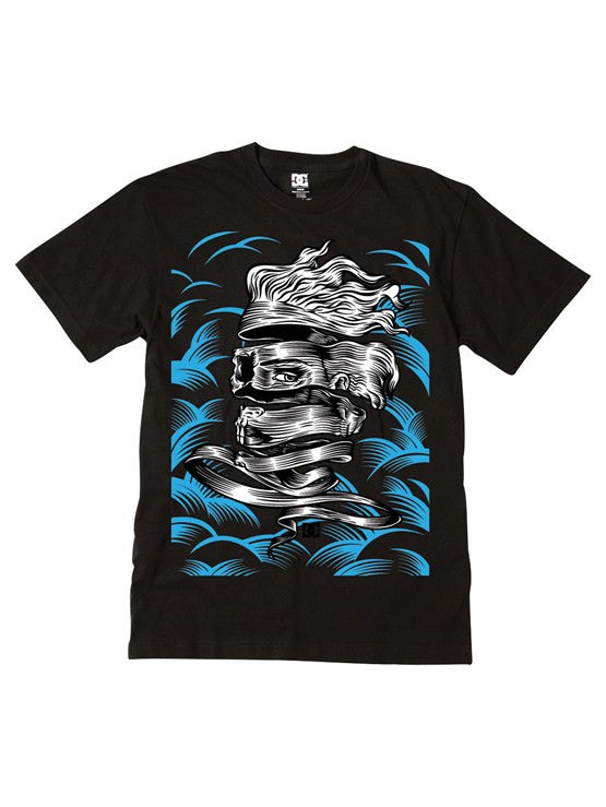 DC Enigma S/S - Black - Men's T-Shirt