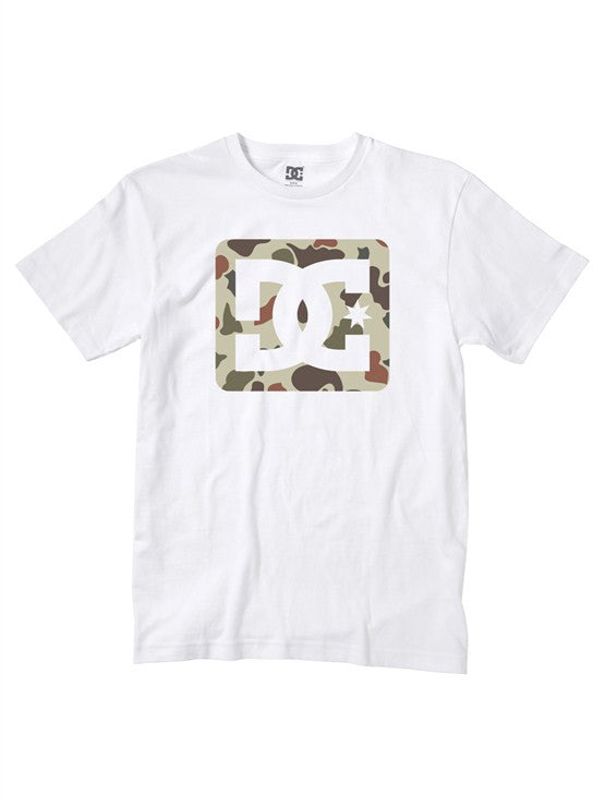 DC Square Stars - White - Men's T-Shirt