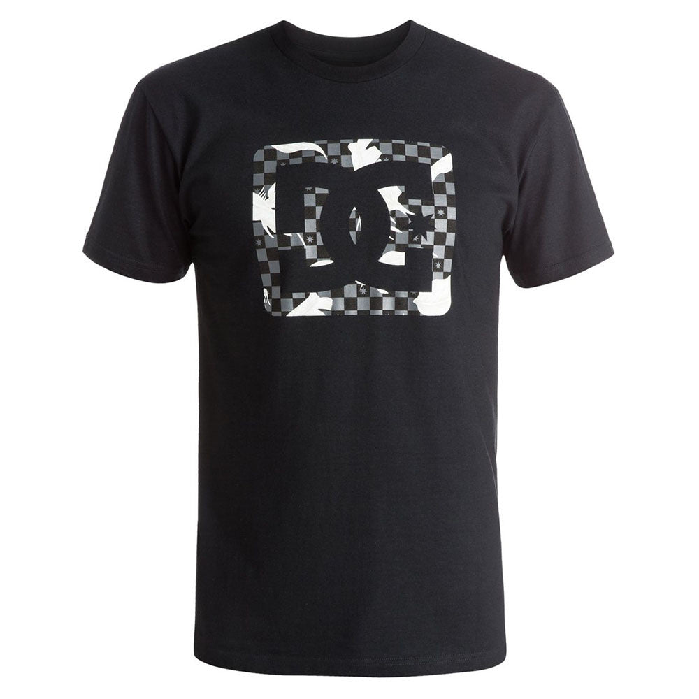 DC Leafly S/S - Anthracite KVJ0 - Men's T-Shirt