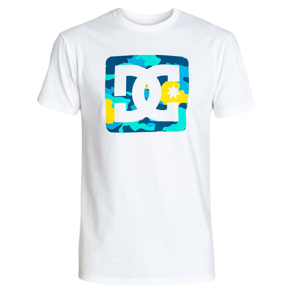 DC Leafly S/S - Star White WBN0 - Men's T-Shirt