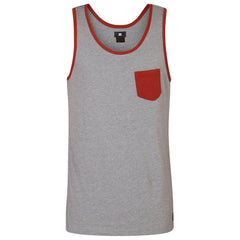 DC Contra Pocket - Steel Grey KNFH - Men's Tank Top