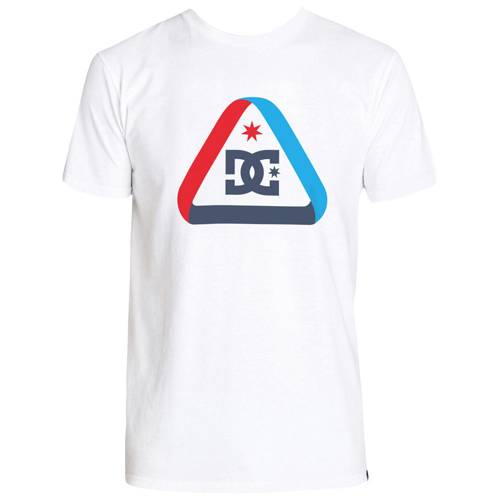 DC Minimalist S/S - White/Black WBN0 - Men's T-Shirt