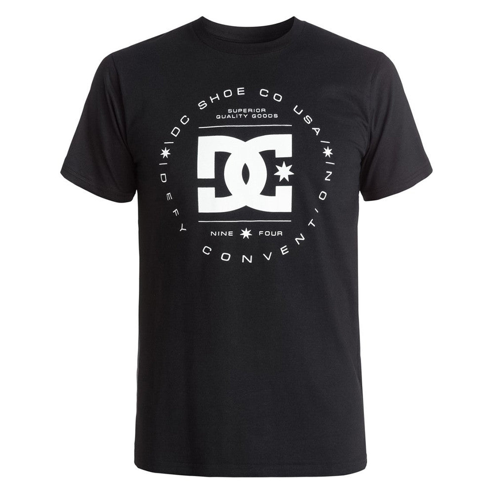 DC Rebuilt S/S - Anthracite KVJ0 - Men's T-Shirt