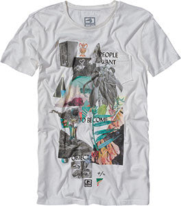 Globe Dion Objects S/S - White - T-Shirt