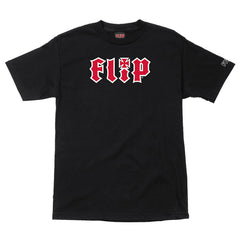 Flip HKD Regular S/S - Black - Mens T-Shirt